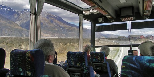 Coach travel allowed us to just sit back and enjoy the panoramic view.