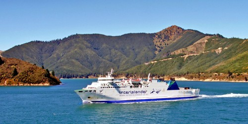 The ferry ride between the North and South Islands of New Zealand is said to be one of the most scenic in the world.
