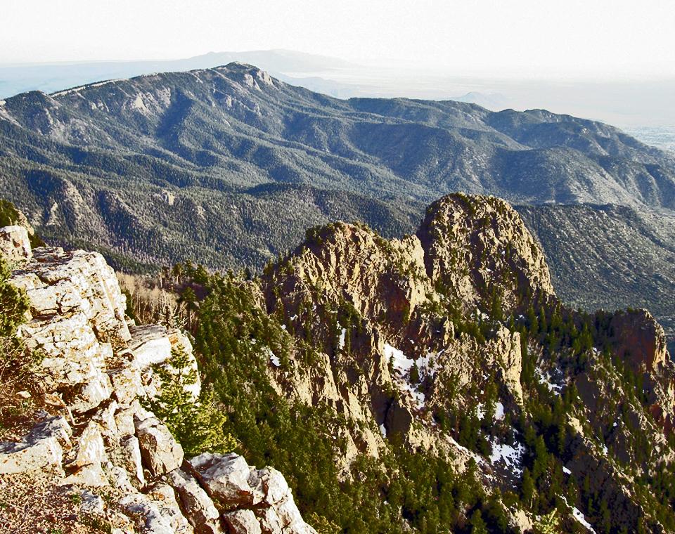 aerial view, Albuquerque, New Mexico