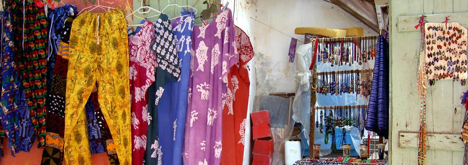 Île de Gorée shop, Senegal