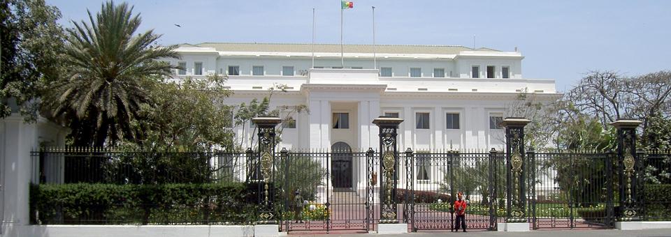 Presidential Palace, Dakar, Senegal