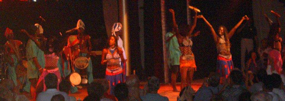 Folkloric Show, Dakar, Senegal, aboard the Royal Princess