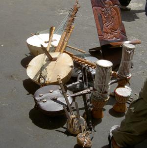 musical instruments, Dakar