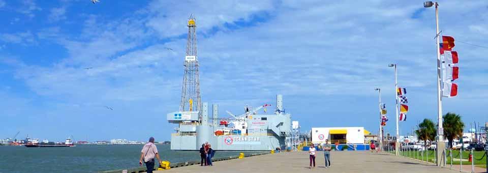 Ocean Star Offshore Drilling Rig & Museum, Galveston, Texas