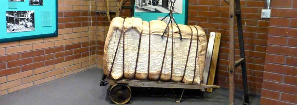 cotton bale, Texas Seaport Museum