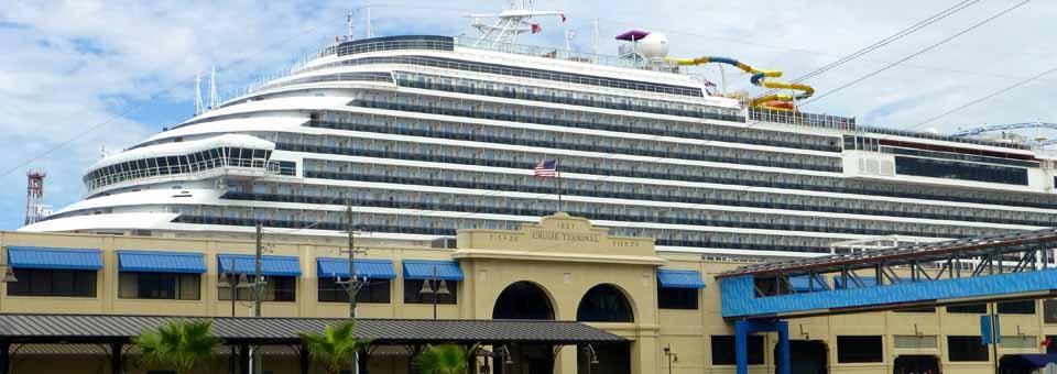 Galveston's cruise terminal