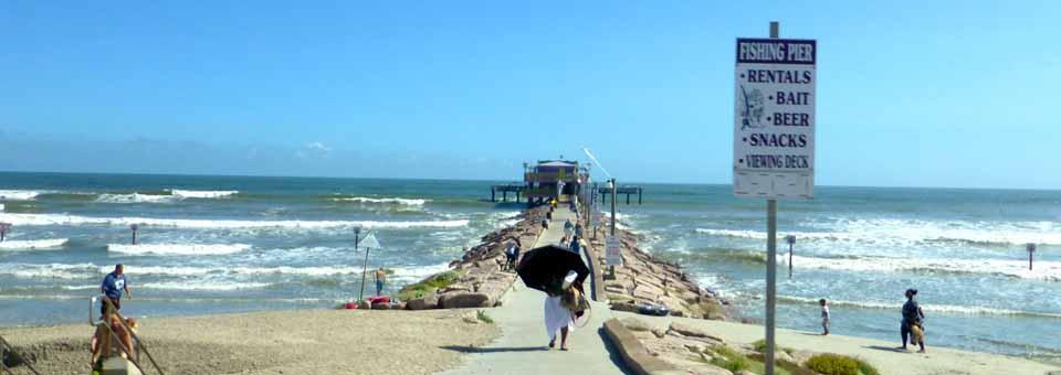 Galveston texas a treasure of an island notable for Galveston fishing pier