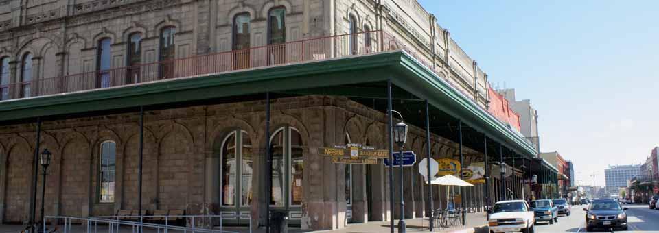 Downtown Galveston, Texas