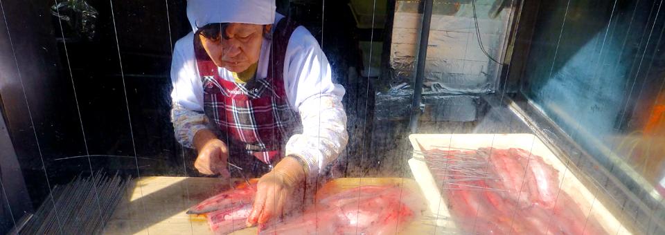 Omotesando Road eel preparation