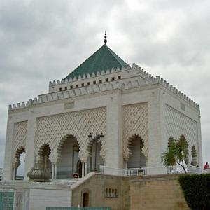 Mausoleum of King Mohammed V, Rabat, Morocco