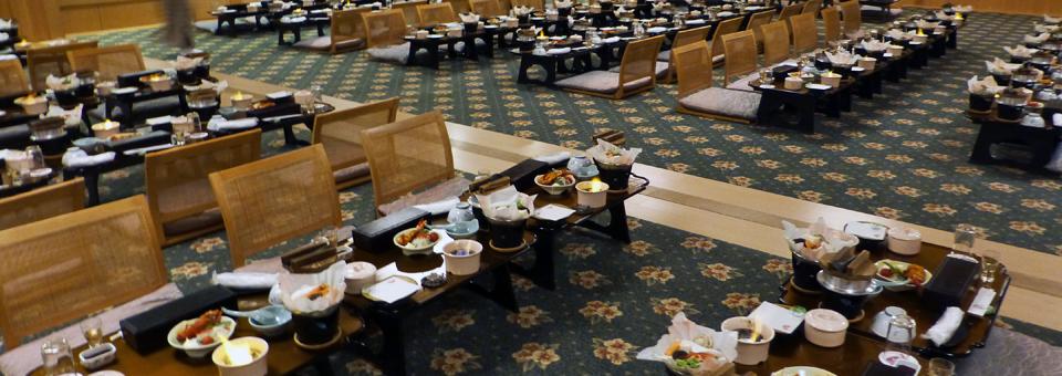 banquet hall, Ryugujo Spa Hotel Mikazuki