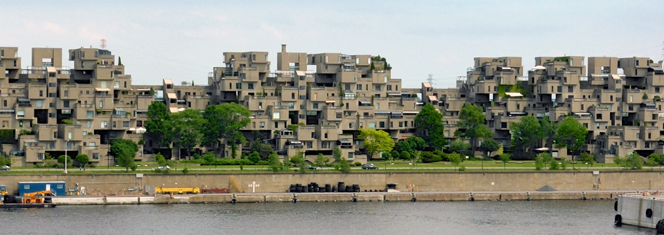 Habitat 67, model housing complex built for Montreal's Expo 67