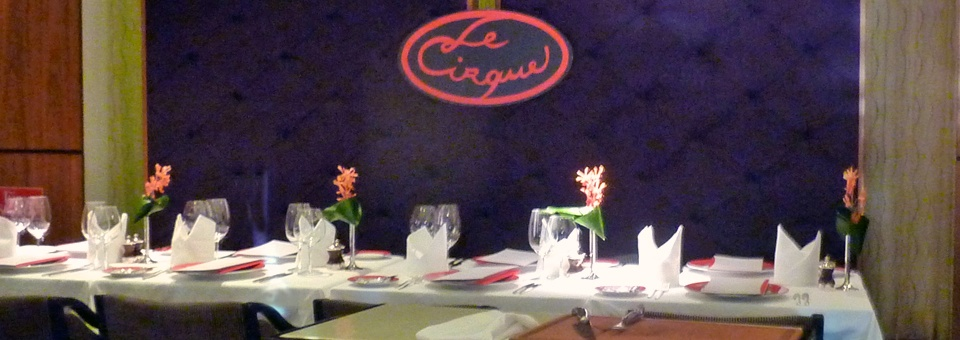 Le Cirque aboard Holland America's Pinnacle Grill