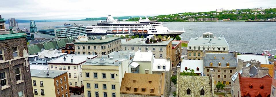 Holland America's Maasdam in Quebec City