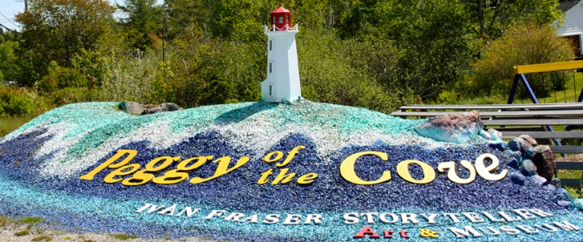 Peggy of the Cove, Nova Scotia