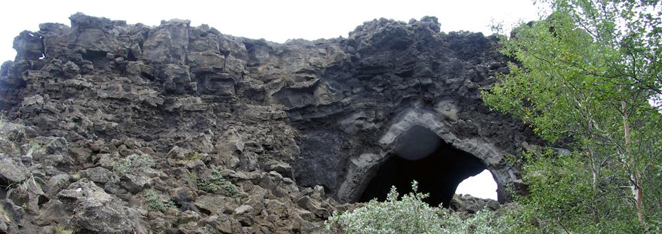 lava field, Akureyri, Iceland
