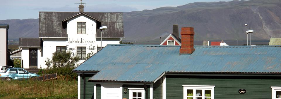 fishing village, Iceland