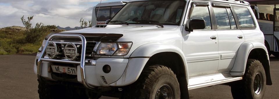 4 wheel drive vehicle in Iceland