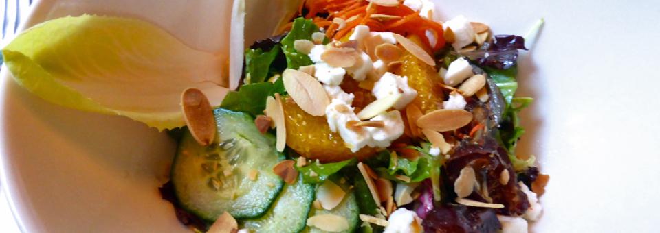 salad at L'Orée du Bois