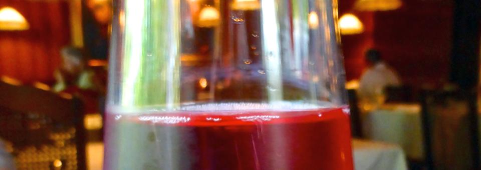 L'Orée du Bois strawberry wine
