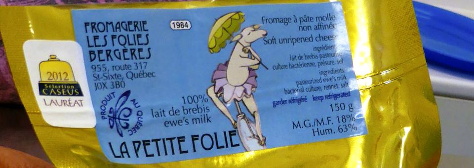 La Petite Folie cheese at Les Folies Bergères