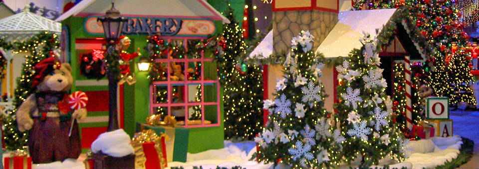 Christmas Display Navy Pier Chicago Illinois Notable