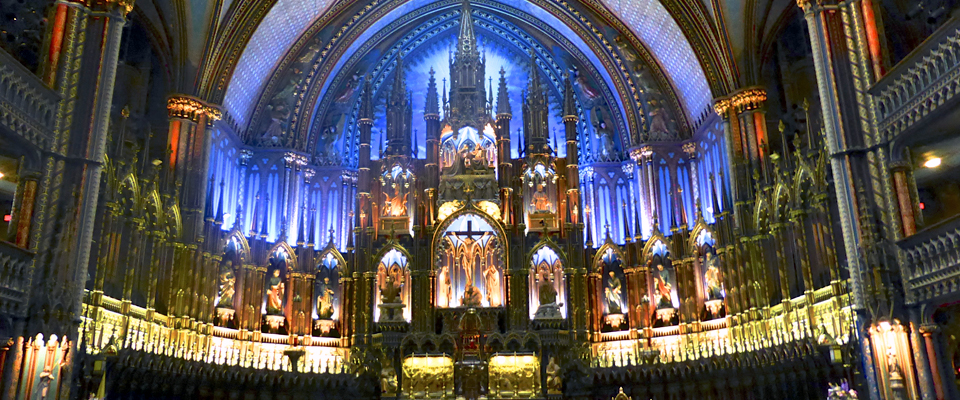 Notre Dame Basilica, Montréal