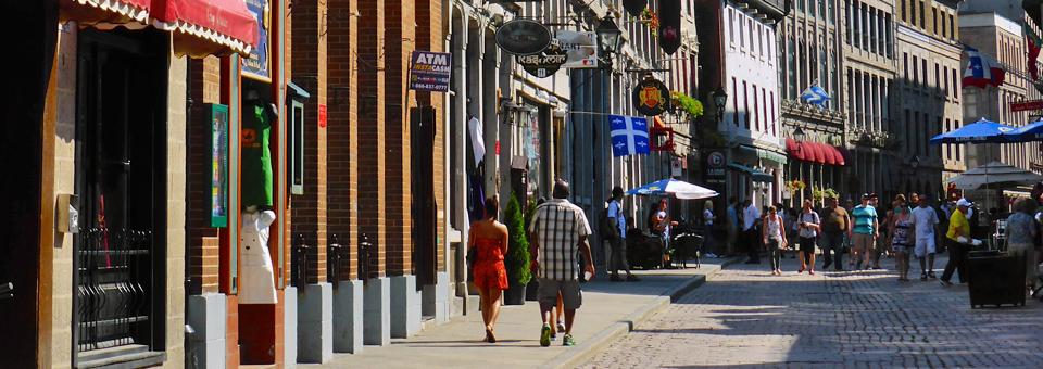 Rue St. Paul, Vieux Montréal
