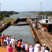The Panama Canal aboard Cunard's Queen Elizabeth