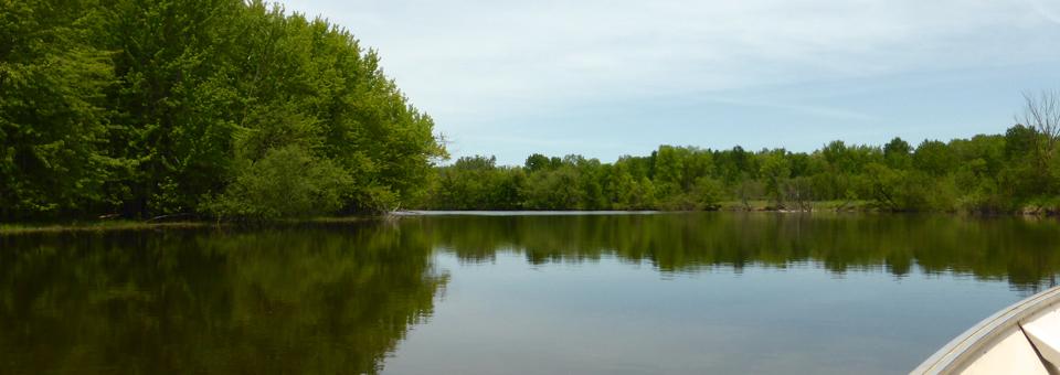 boat tour at the Parc national de Plaisance