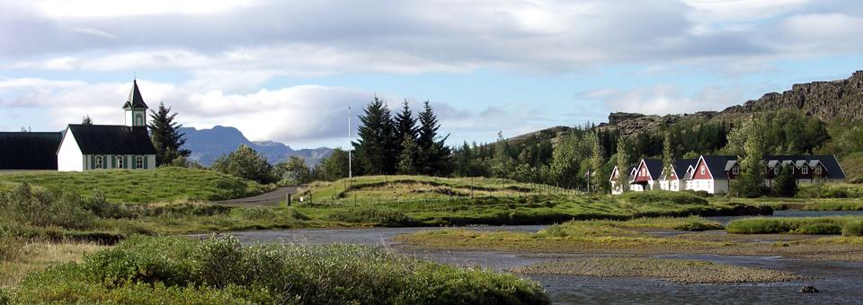 Thingvellir Church and National Park