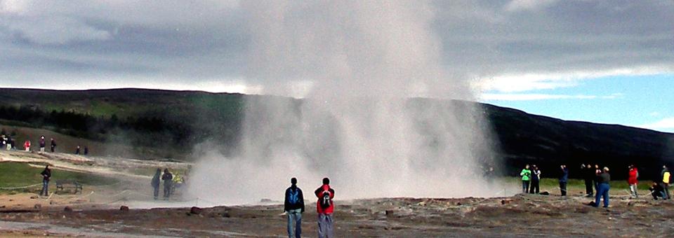 geyser Strokker, Iceland