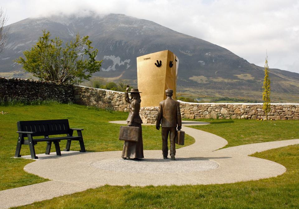 Memorial Park sculpture, Addergoole