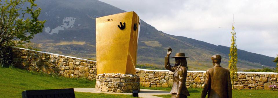 Addergoole Memorial Park sculpture