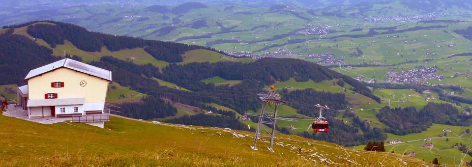 hike to Gasthaus Aescher