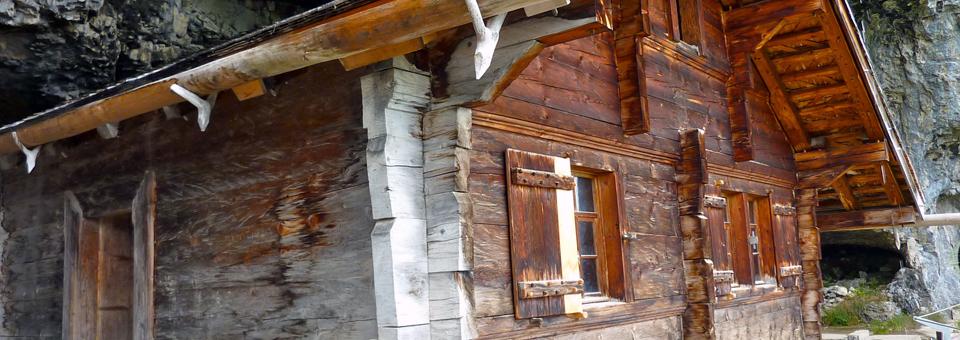 hermit's dwelling en route to Gasthaue Äescher