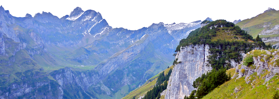Appenzell hike mountains, Switzerland