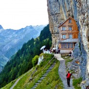 Worth the hike: dining at breathtaking heights at Berghaus Ӓescher