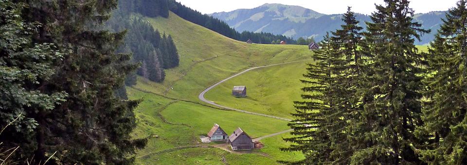 Appenzell mountain view, Switzerland