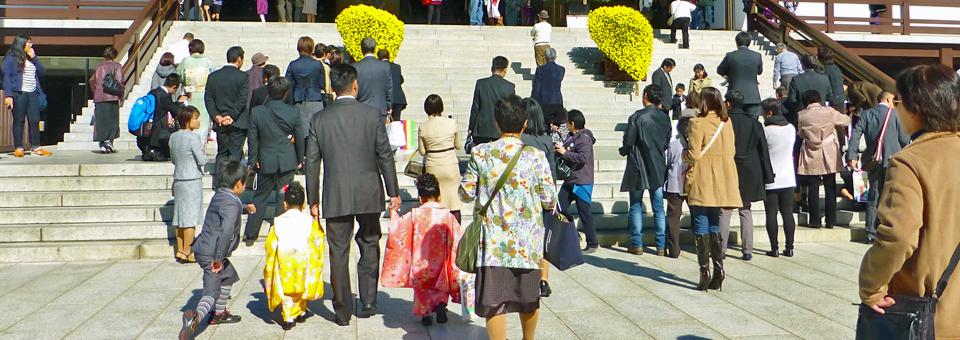 Shichi-go-san (Seven-Five-Three) Festival, Narita-san Shinshō-ji Temple, Chiba