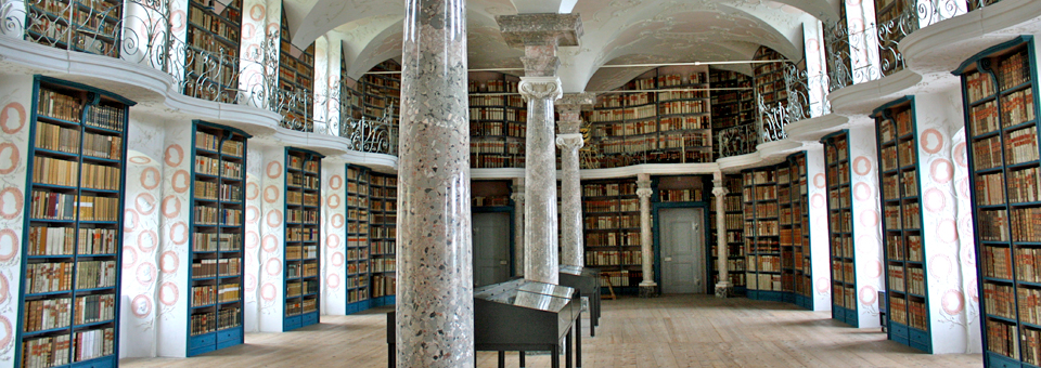 library, Benedictine Monastery Einseideln