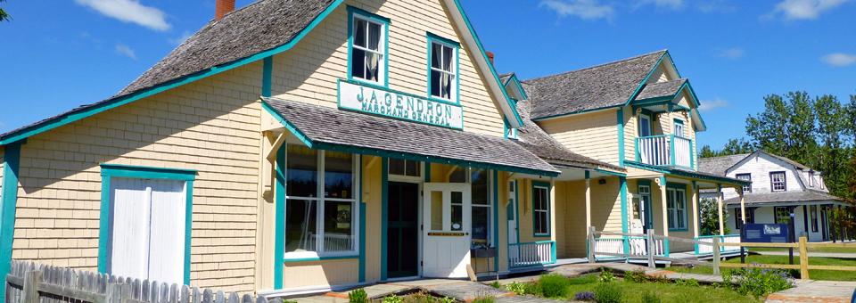 Gaspésian British Heritage Village in New Richmond
