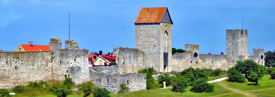 city walls, Visby