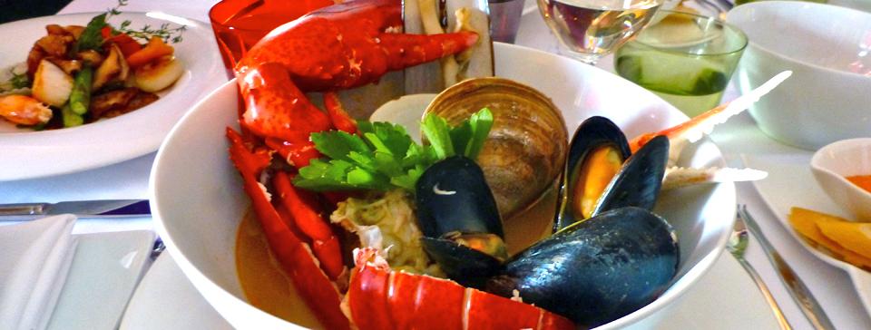 bouillabaisse, La Table des Roy, L'Étang-du-Nord, Magdalen Islands