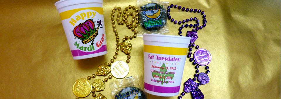 Mardi Gras trinkets