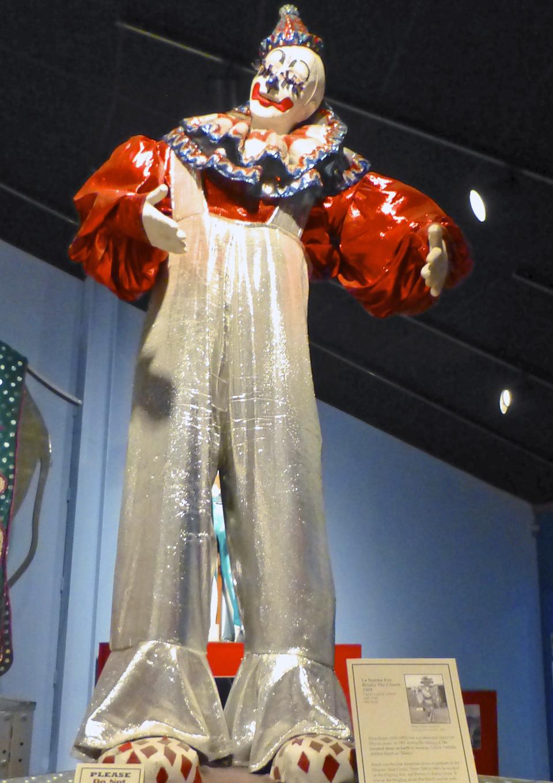 clown, Circus Museum, Sarasota, Florida