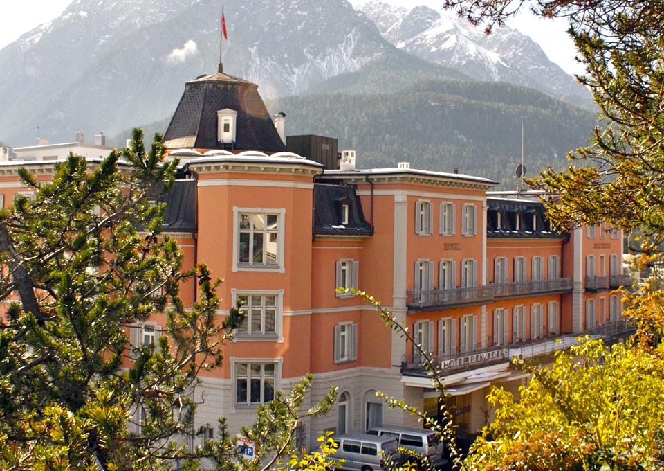 Hotel Belvedere, Scuol, Switzerland