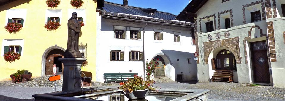 Lower Town, Scuol, Switzerland