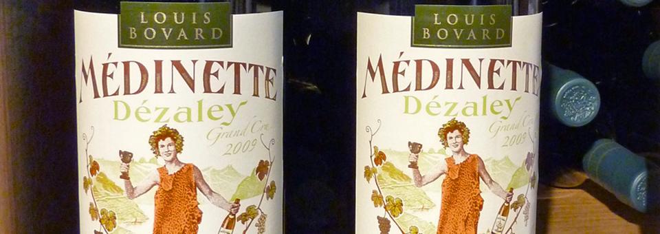 Dezelay wine in the Lavaux region
