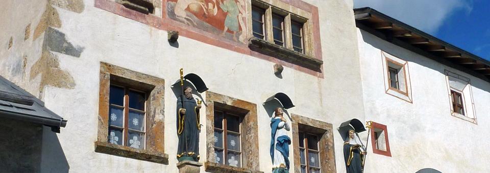 Convent St. John, Val Müstair, Switzerland
